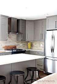 Black Appliances And White Or Gray Cabinets How To Make It Work Kylie M Interiors