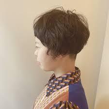 大人女性に似合わせハンサムツーブロックヘアスタイルhair