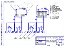 Чертежи Графическая часть Курсовая работа Технологическая схема  Чертежи Графическая часть Курсовая работа Технологическая схема налива нефтепродуктов АСН 10ВГ