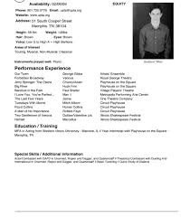 Sample Acting Resume With No Experience How To Make A Beginner S Acting Resume W NO Experience YouTube At An 26