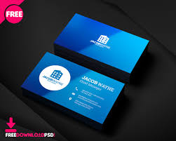 Free Psd Business Card Templates Real Estate Business Card Psd Freedownloadpsd Com