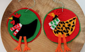 Easy Felt Crafts U2013 FunEZcrafts FunblogEasy Christmas Felt Crafts