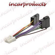 panasonic 16 pin iso wiring harness adaptor connector lead cable panasonic 16 pin iso wiring harness adaptor connector lead cable wire plug loom