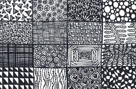 Easy Zentangle Patterns Impressive Zentangle Patterns To Print Tonyshume