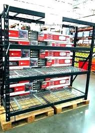 exquisite ideas costco metal shelving alera 3 tier wire rolling cart 34 x 18 x 40 black collection