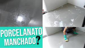 Para proteger o piso porcelanato, principalmente o polido, aposte em um belo tapete&nbsp. Como Retirar A Pelicula Cera Protetora Do Porcelanato Youtube