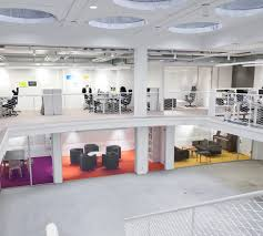 Image White Flexible Spaces That Can Be Used As Private Offices Or Collaboration Spaces Are Still Necessary To Make Open Office Environments Work Hatch Interior Design Open Office Design Balance Focus With Collaboration