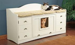 paus pet bench pet perfect bookcase climber litter box
