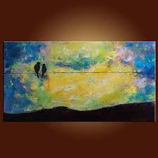 Oil Painting For Living Room Original Oil Paintings By Clark Turner Bird Painting Living Room