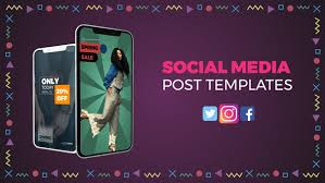 Social Media Posts Templates By Llmotion Videohive