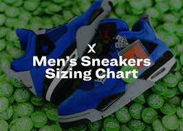 Mens Sneakers Sizing Chart Stockx News