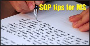 how to write ms how to write the best sop for ms