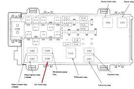 2000 ford ranger ac relay diagram 2003 ford ranger ac relay 2008 ford explorer fuse box diagram at 2008 Ford Ranger Fuse Box Location