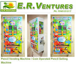 School Pencil Vending Machine Cool Pencil Vending Machines E R VENTURES In ChennaiIndia