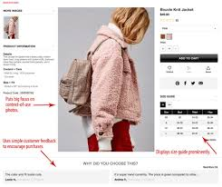 Forever 21 Chart Size 5 Simple Ways To Boost Conversions Practical Ecommerce