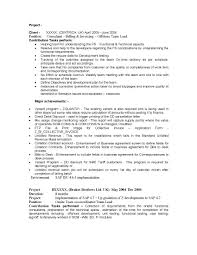 Sap Is Industry Solutions Sample Resume 14 00 Years Experience