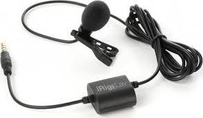 Петличный <b>микрофон IK Multimedia</b> iRig Mic Lav, черный ...