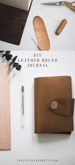 make your own leather bound journal with this tutorial i have everything created for you