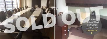 Chicago Financial fice Used Furniture Sale