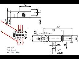 renault bosch dacia retro fit map sensor wiring warning youtube map sensor voltage chart at Map Sensor Wiring Diagram