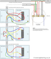 three way light switching circuit diagram (old cable colours Stack Light Wiring Diagram three way light switching circuit diagram (old cable colours) electical wiring pinterest 855t stack light wiring diagram