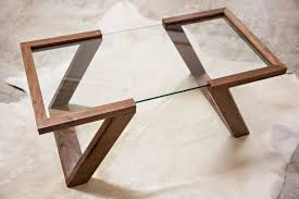 6. sculptural transparent coffee table