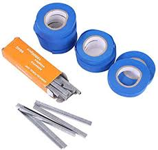 Amazon.com : Domybest Plant Tapetool Tapener with 10 Rolls Tape Upgraded Plant Tying Machine Tapener Comes with Tapes and Staples Set for Vegetable, Grape, Tomato, Cucumber, Pepper and Flower : Garden & Outdoor