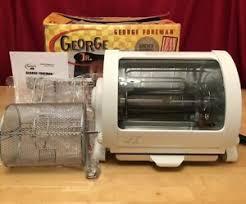 Details About George Foreman George Jr Rotisserie Gr82