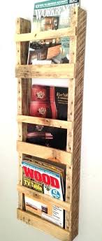 Handmade Magazine Holder Amazing Hanging Magazine Holder Wall Mount Magazine Holder Handmade Wall