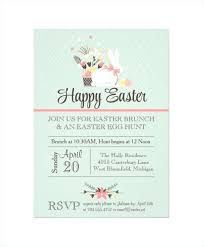 Easter Invitations Template