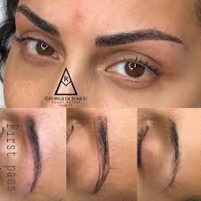 Microblading or eyebrow embroidery is a way of implanting pigment under the epidermis using a specially designed tiny blade which leaves realistic hair strokes for the most natural finish. Microblading Master Artist Cary Raleigh Apex Nc