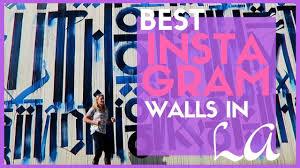 instagram wall art los angeles