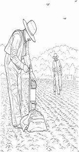 Kleurplaat Samen 1 Mann Saehrt Samen Ausmalbild Malvorlage Bauernhof