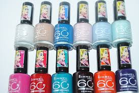 Rita Ora For Rimmel 60 Seconds Nail Polish Review Swatches
