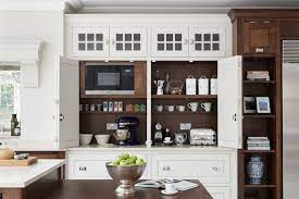 Plastic laminated waitress stations, hostess stations, drink machine cabinets, service stands, coffee stations, condiment cabinets and restaurant supply storage cabinets. Coffee Station Ideas For The Luxury Kitchen Heather Hungeling Design