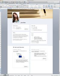 Microsoft Office Word Resume Templates Cv Template 2007 Uk Profe Sevte