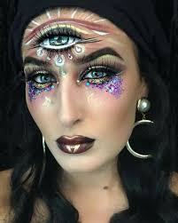gypsy costume makeup emo gyphy makeup15