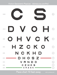 Welcome To Low Vision Free Eye Chart Download Print Test