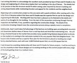 letter of recommendation for civil engineer letter of recommendation for evstudio architecture from ted de bruin