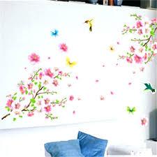 wall sticker target cherry blossom tree wall decal good life pink cherry blossom tree wall decal flower fl wall