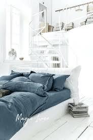 white linen duvet grey blue linen duvet cover linen house sanura white duvet doona quilt cover