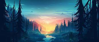 Forest Art Wallpapers - Wallpaper Cave