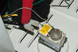 how to replace a cold control thermostat in a freezer repair Freezer Thermostat Wiring reconnect the wires freezer thermostat wiring diagram