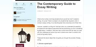 resources every student needs to be a better essay writer cnn contemporary guide to custom essay writing