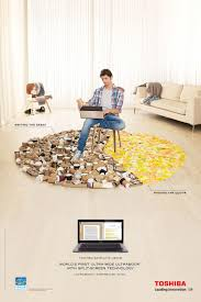 humorous print ads webdesigner depot toshiba