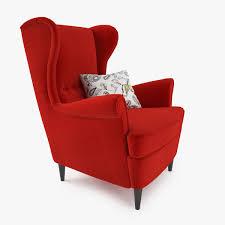 wingback chair. Wingback Chair 3d Model Max Obj Fbx Mtl 5