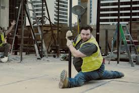 Moneysupermarket Follows Epic Strut With Pole Dancing Builder