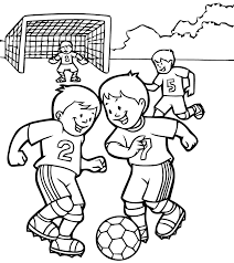 Coloring Pages Football Soccer Free To Color For Kids Soccer Kids Coloring Pages