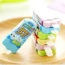 <b>Cute</b> Cartoon <b>Kawaii Ice Cream</b> Popsicle Eraser <b>Cute School</b> ...