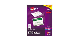 Avery 8870 Template Indesign Templates For Avery Name Badges Templates 105115